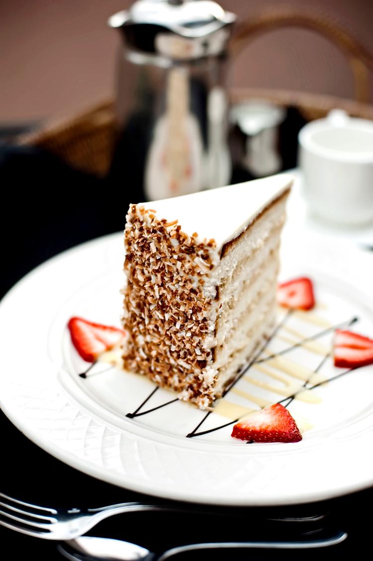 Famous Charleston Coconut Cake