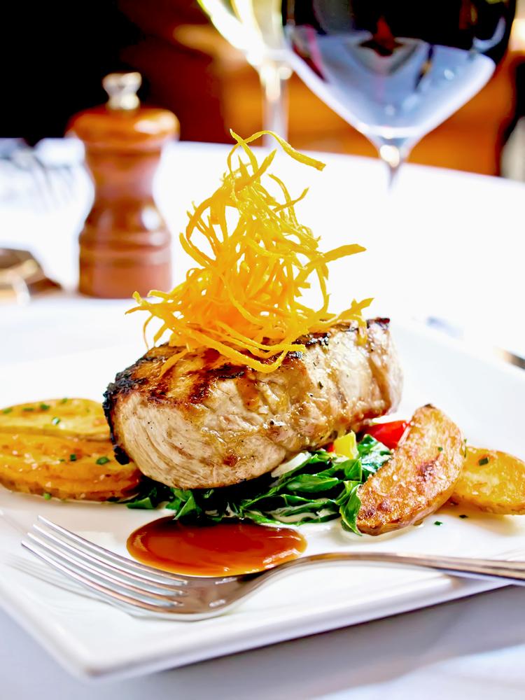 Peninsula Grill cuisine