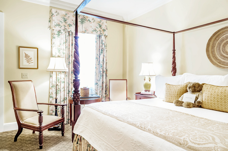 Charleston hotel room with separate entrance