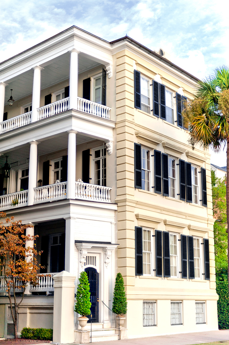 A spectacular Colonial Era mansion in Charleston, S.C.