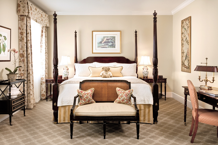 Charleston King guest room with king bed