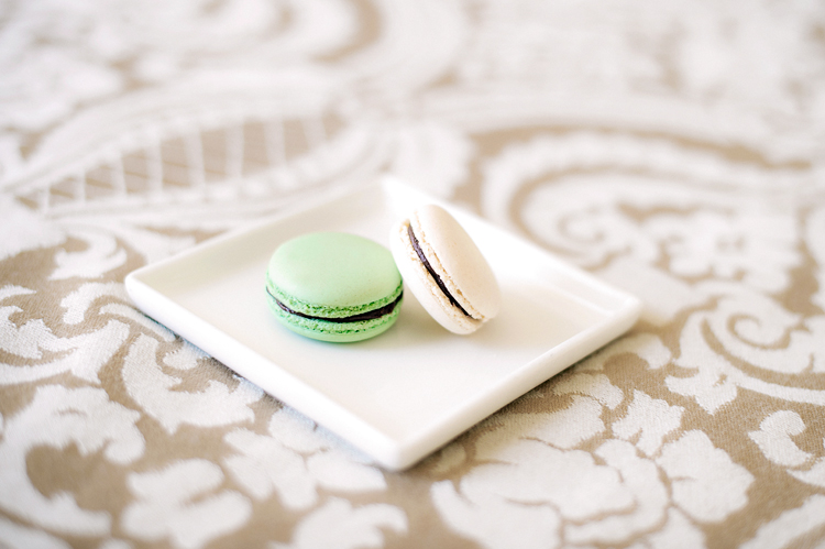 Planters Inn macaroons left in every Luxury room