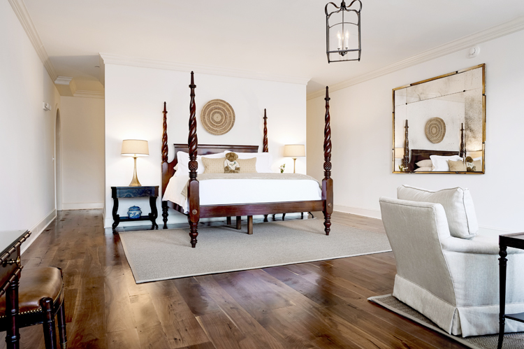the best downtown charleston hotel rooms includes The Charleston City Market Suite at Planters Inn