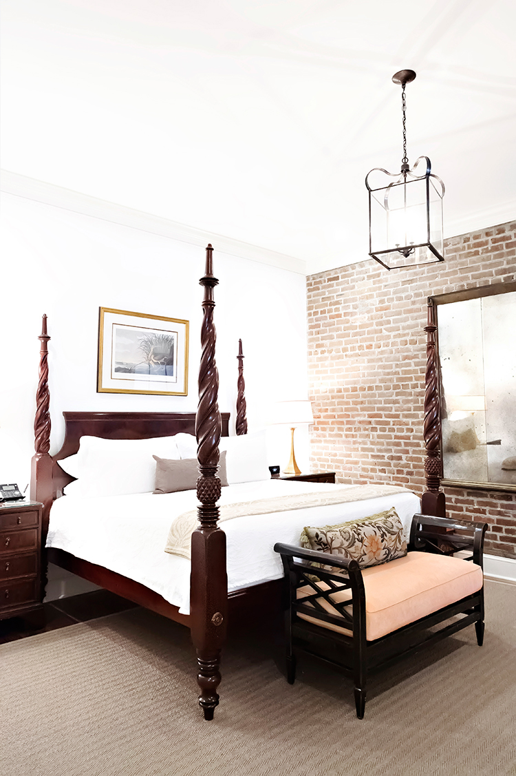 the most luxurious suite of all hotels in downtown charleston sc